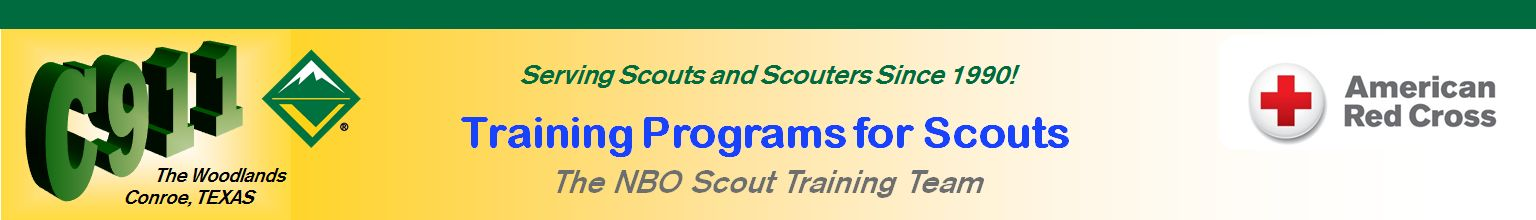 The NBO Scout Training Team Masthead