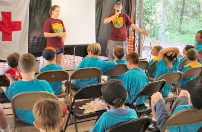 BAT class at WEBELSO Day Camp