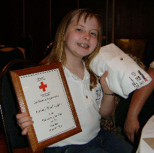Kimmy - GHAC-NBO Volunteer of the Year 2004